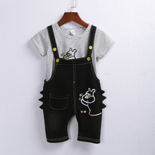 Lomila Hot t Sale Brand Boys Clothing Children Summer Boys Clothes Cartoon Kids Boy Clothing Set T-shit+Pants Cotton brand summer boys clothing set 100