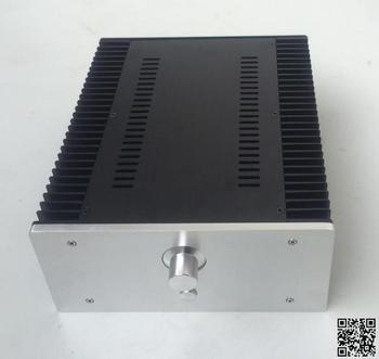 2612 silver full Aluminum Preamplifier enclosure/amplifier chassis AMP BOX
