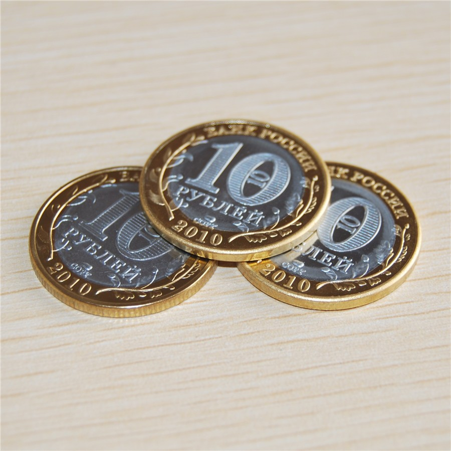 2010 the Russian republic of chechnya 10 roubles COIN The republic of chechnya coin (3)