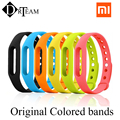 6Colors Original Colorful Xiaomi Mi Band Strap Mi Band 1s Bracelet Accessories Replaceable Smart Band Belt Silicone Bracelet