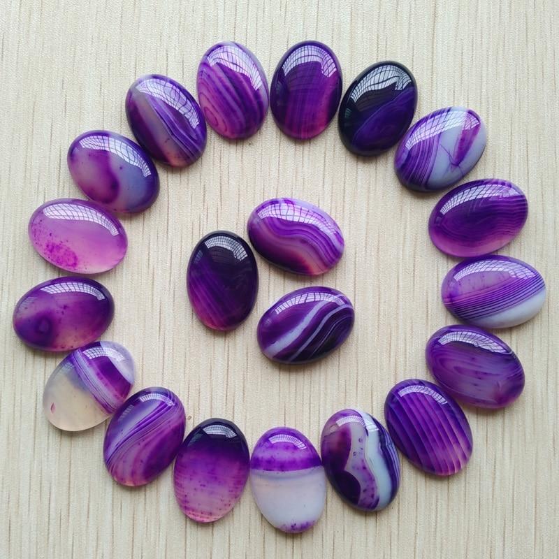 Wholesale 20pcs/lot fashion good quality purple stripe onyx Oval CAB CABOCHON teardrop beads for jewelry making 18x25mm free