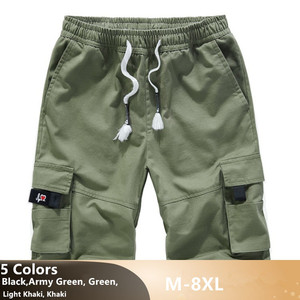Image 2 - Mens מכנסיים קצרים מטען קיץ Camo קצר ספורט כותנה מכנסי טרנינג גברים הסוואה בתוספת גודל 6XL 7XL 8XL צבאי Corto Pantalon Hombre
