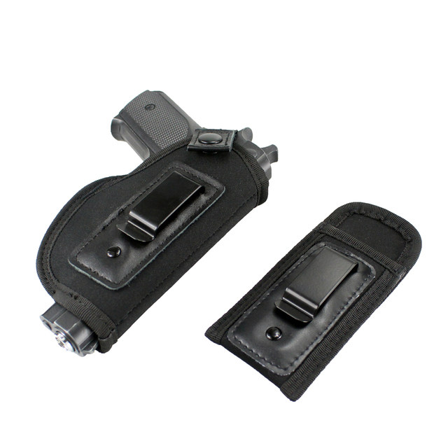 Concealed Carry Universal Neoprene IWB Holster with Extra Mag Holster for Right Hand