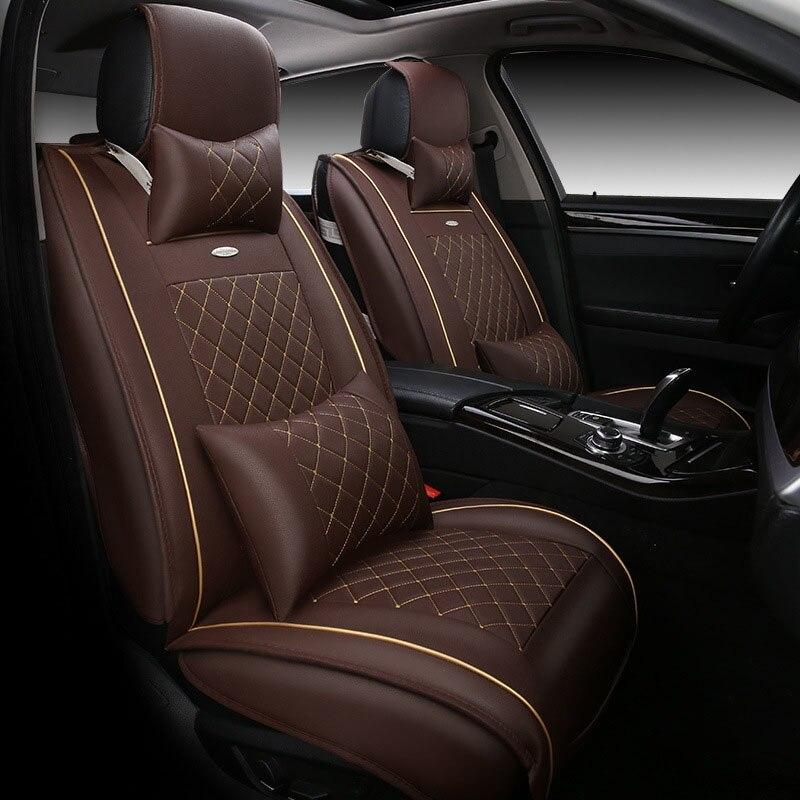 Housses de siège de voiture universelles en cuir de haute qualité pour BMW e30 e34 e36 e39 e46 e60 e90 f10 f30 x3 x5 x6 accessoires de voiture