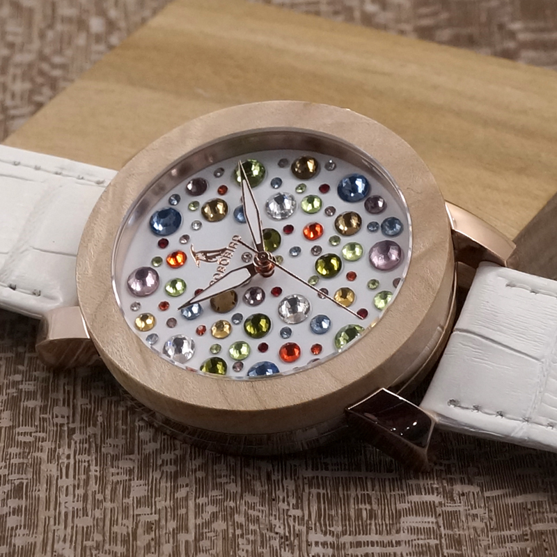 BOBO BIRD Jewelry Bracelet Real Leather Watch Women Luxury Ladies Quartz Watches Maple Wooden Wristwatch relogio feminino Mujer