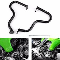 Motor Engine Guard Crash Bar Guard Protection For Kawasaki ER 6N ER6N 2012 2015 Black High