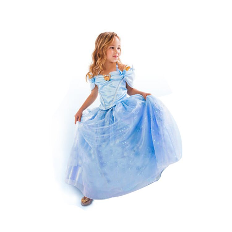 Cinderella Baby Doll Dress On Storenvy: Baby Girls Cinderella Dresses Children Cartoon Princess