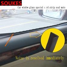 1M 1 Car Window Seam Gap Sealing Protection Strip For Ford Focus 2 3 Fiesta Mondeo Kuba Ecosport Mini Cooper R56 R50 R53 F56