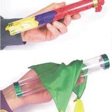 Хрустальная трубка с шелком/шелком, ПВХ трубка, волшебные трюки, аксессуары для сцены, иллюзия, реквизит, трюк, реквизит, шарф, связывание, волшебство