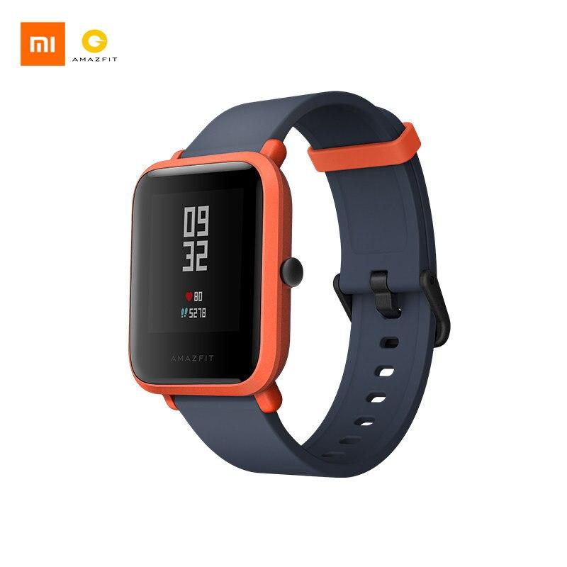 Xiao mi AMAZFIT Bip sport montre intelligente GPS Gloness Smartwath étanche Smartwatch pour mi Fit Version anglaise VS mi band 3