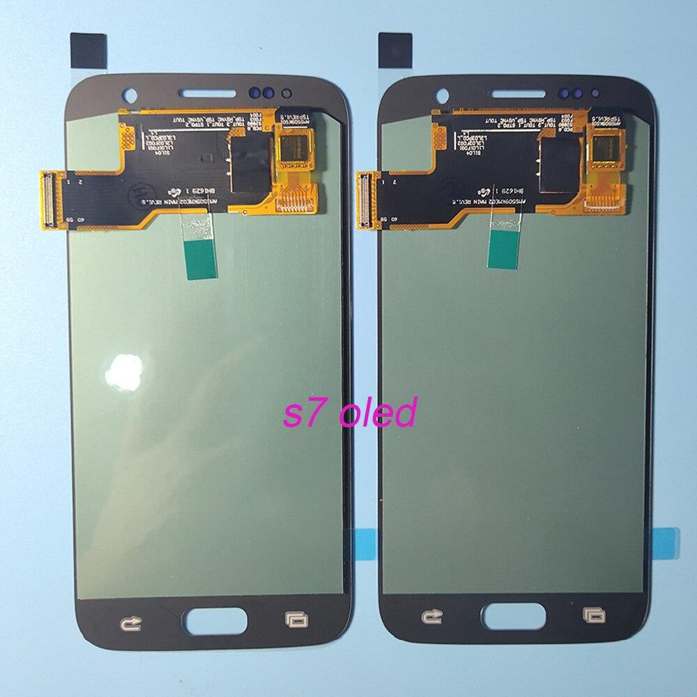 Test OLED LCD pour SAMSUNG Galaxy S7 G930 G930F LCD écran tactile numériseur pour SAMSUNG S7 G930F SM-G930F assemblée - 5