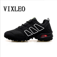 Vixleo male sports shoes run gym trail running shoes men boost 350 tn breathable sneakers for men solomons Man tennis size 39 46