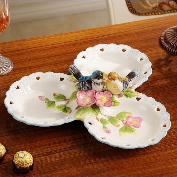 Modern decorative plate for Fruit Creative Ceramic Dessert Plate Decorations Candy Dried Plate Home Decors Wedding Gifts-in Bowls u0026 Plates from Home ... & Modern decorative plate for Fruit Creative Ceramic Dessert Plate Decorations Candy Dried Plate Home Decors Wedding Gifts-in Bowls u0026 Plates from Home u0026 ...