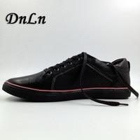 Men Fashion Shoes High Quality Men Flat Shoes Black Red Gray Brown Sneakers Men Shoes D30