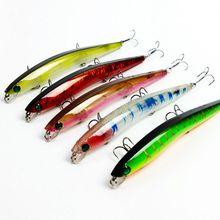 Señuelo para pesca en hielo, 5 uds., Wobbler Popper, Crankbaits, arrastre, 139mm, 16g, aparejos de carpa
