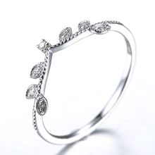 Art Deco Solid 10k White Gold Wedding Band Natural Diamond Women Engagement Ring cheap Fine Rings Plant Excellent Wedding Bands Classic Anniversary 0 008ct BNDA307W Pave Setting GDTC Round Shape Need Extra $15 to Make Certificate(Chinese)