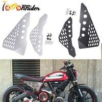 Aluminum Side Mid frame Cover Panel Protector Guard Fairing for Ducati Scrambler Sixty /Desert Sled/ Full Throttle/Urban Enduro