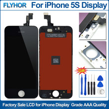 No Dead Pixel LCD For iPhone 5S Display Touch Screen Digitizer Replacement for iPhone 5 5S 5C LCD Display Assembly parts(China)