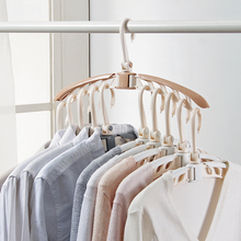 Wardrobe Hangers Organization Scarf Storage-Racks Plastic
