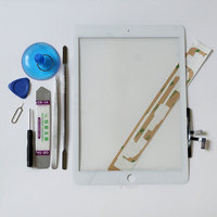 New Touch Screen Digitizer Glass Adhesive For IPad Air 1 A1474 A1475 With Full Tools