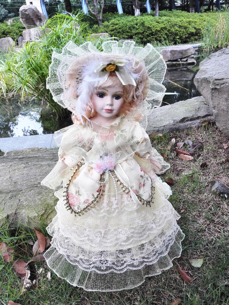 16inches Porcelain Doll Russian Doll Baby Toy 41cm