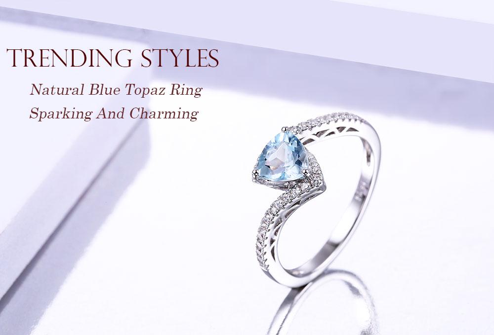 silver blue topaz rings CASR01612SC-1 (1)