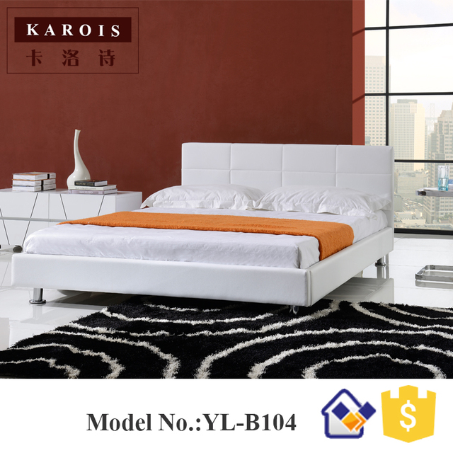 online shop latest modernas style double bed and bed frame china