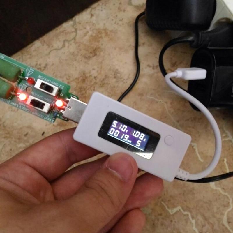 ATORCH USB rezistoriaus nuolatinė nuolatinės srovės apkrova Su - Matavimo prietaisai - Nuotrauka 4