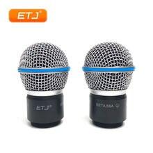 Картридж для микрофона бренда etj 2 шт/лот beta58 beta58a аксессуары