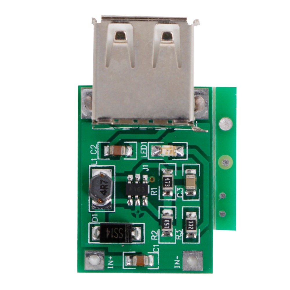 DC-DC 0.9-5V To 5V 600mA Converter Step Up Boost Module Supply Power USB Charger