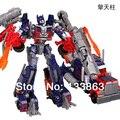 Envío gratis, 18 cm alta transformación Optimus Prime enfriar cambio Voyager juguetes clásicos alta calidad Robot juguetes para los niños