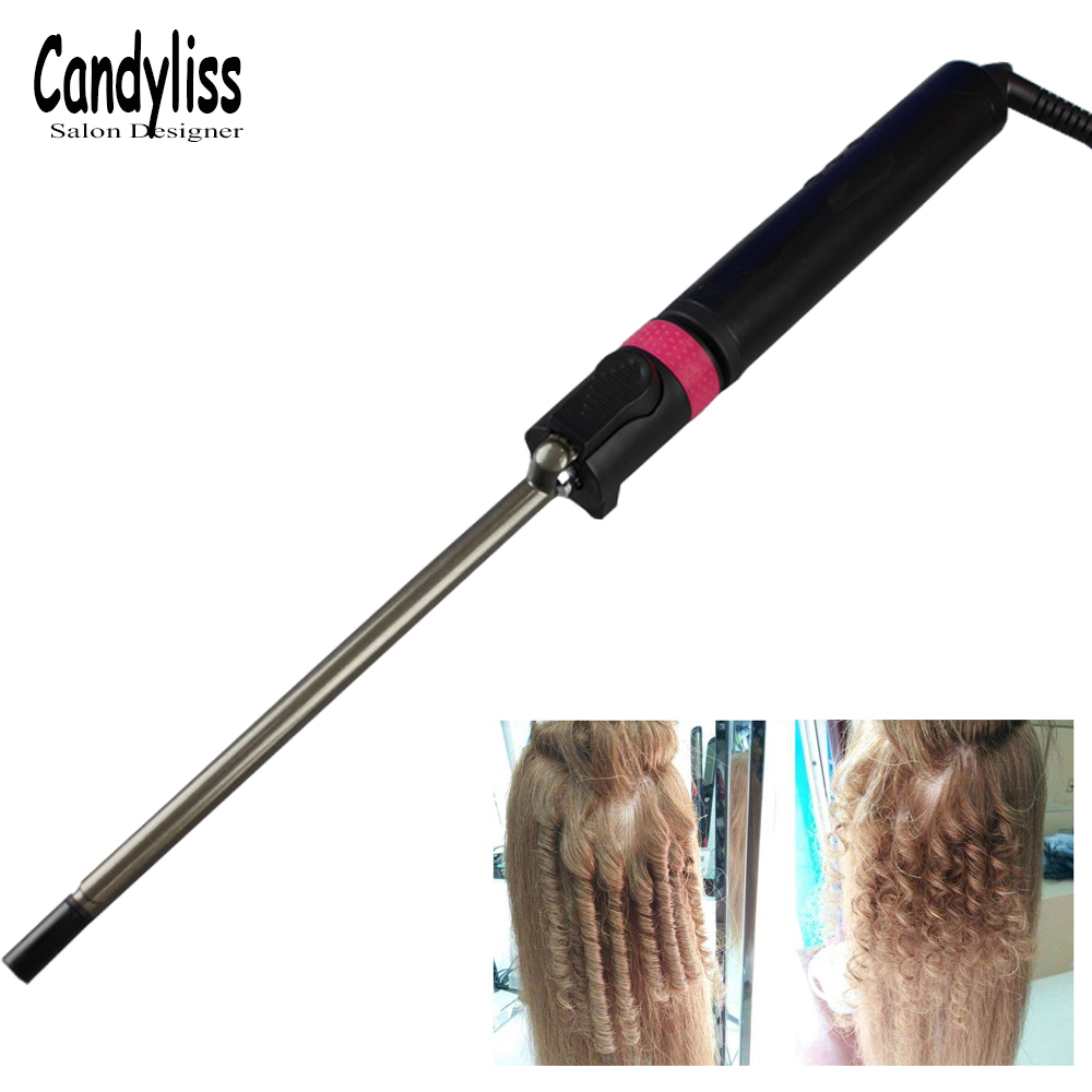 7/9mm Professional Curling Iron Unisex Curly Hair Curling Wand Deep Whole Curl Wave Machine Screw Drum Of Hair Curler