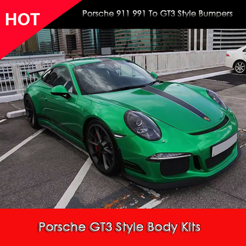 For Porsche 911 (991) Carrera & Carrera S 2012-2014 GT3 Style Full Bodykit ...