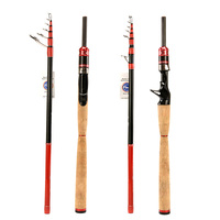 Hi.Whale new carbon fishing rod 2.28 m Fuji acces7 sections lure rod spinning pole and bait casting pole action fast fishing rod