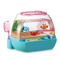 Child Boy Girl Toy Happy Aquarium Pet Electronic Fish Food Crab Good Quality Gift For Kids