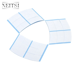 Image 4 - Neitsi 36*2 Tabs/lot Strong Blue Minis Ultra Hold Double Sided Tape Tabs For Toupees/Lace Wigs/Tape Extension Wig Adhesive Tape