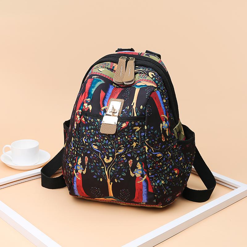 2019 New Women Emoji Shoulder Bag Best Travel Women Backpack Female Printing Waterproof School Knapsack mochila Bagpack Pack 25
