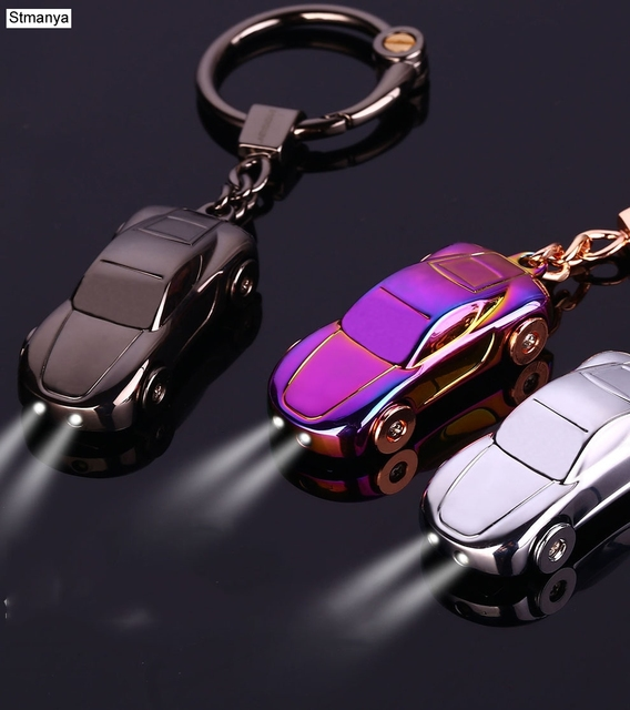 Car Keychain - Best Gift Men s Metal high quality Keychain Key Holder Zinc  Alloy Pendant Couple Key Chain (with Box) 17385 3390a25889e1
