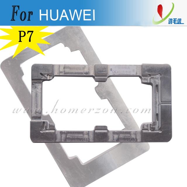 Molde de aluminio del metal para huawei p7 lcd marco del molde de aleación de precisión de reparación de la pantalla del teléfono móvil roto no fácil deformado
