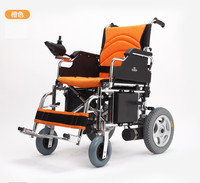 New Automatic Safey Folding Electric Wheelchair With Lithium Battery