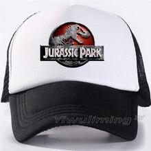 Jurassic Park Trucker Caps Men Dinosaur Cap Jurassic World S