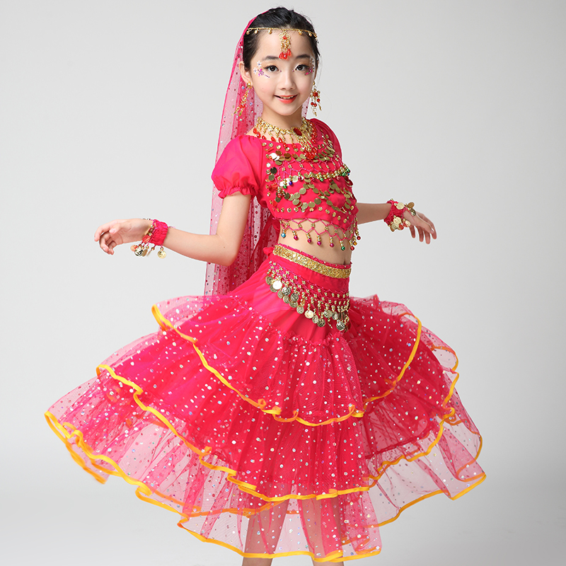 Children Dancewear Kids Professional Belly Dance Costume ...