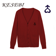 Kesebi 2017 Autumn Winter New Scorching Vogue Janpanese Girls Informal Single Breasted Cardigans Feminine College students Embroidery Sweaters