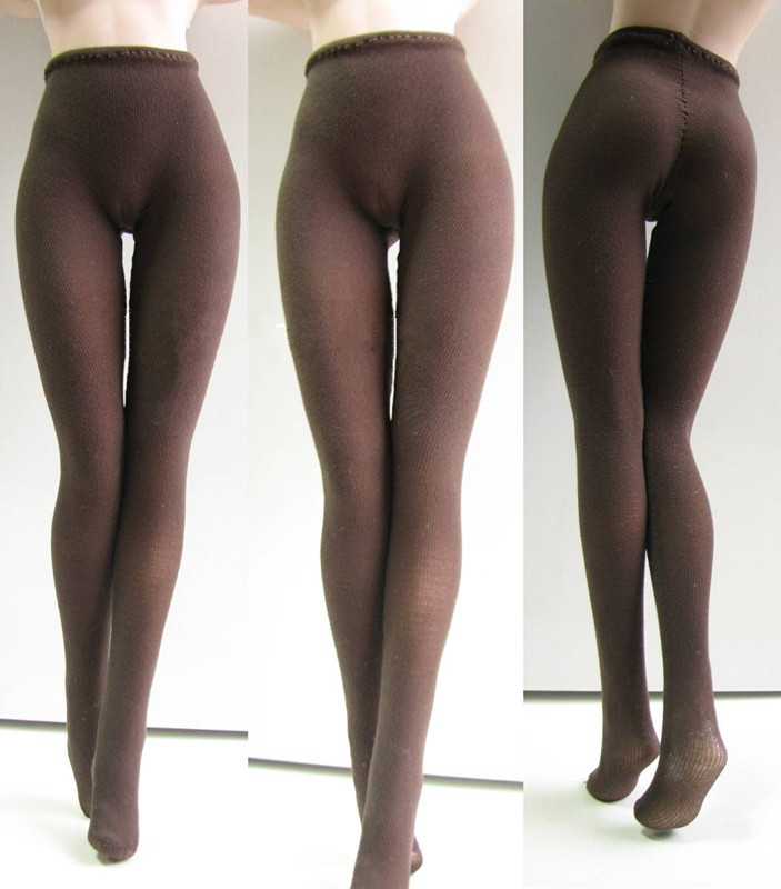 1:6 Scale female  black Clothing Leggings Pants  for phicen JIAOU DOLL  Figure