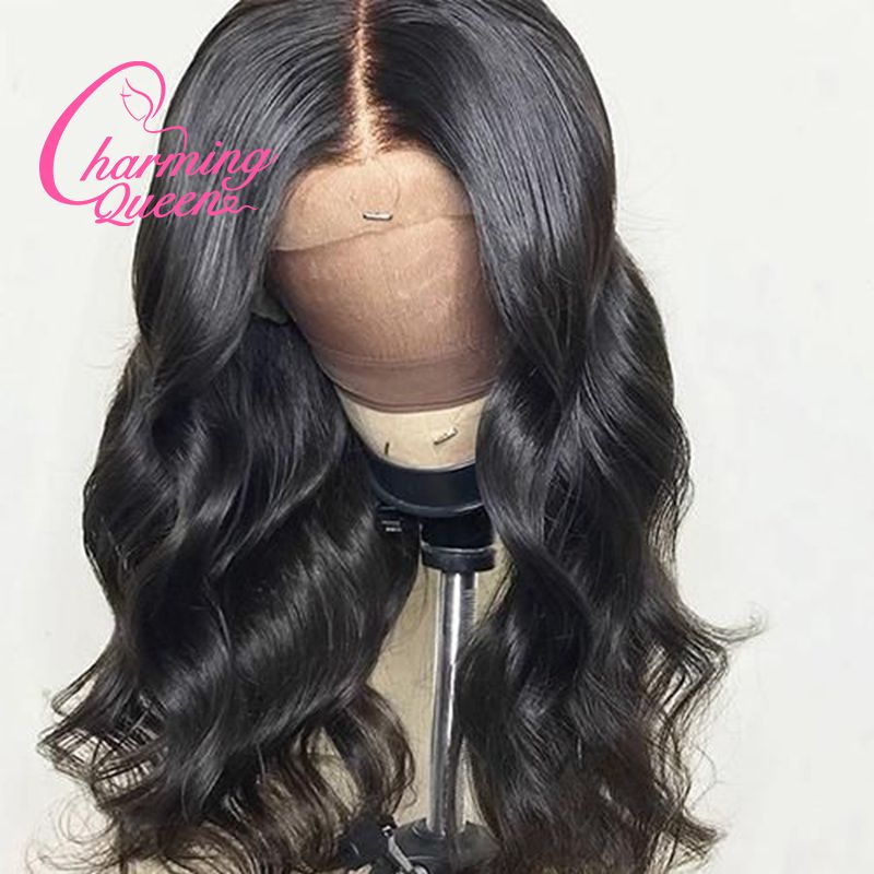 13 4 Lace Front Human Hair Wig Peruvian Remy Hair Body Wave Lace Wig for Black