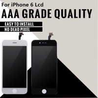20PCS Top Quality Grade AAA 4 7 Inch LCD For IPhone 6 6G Display Touch Screen