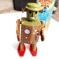 Retro Robot Terminan Juguetes Juguetes de Hojalata Clásicos Para Niños Artes Hechos A Mano de La Vendimia