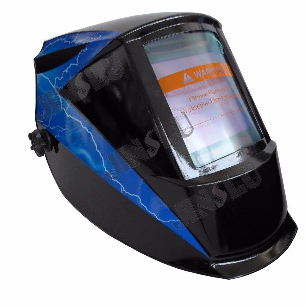 View Area 101 94mm Solar Auto Darkening Welding Helmet Tig Mig Mag