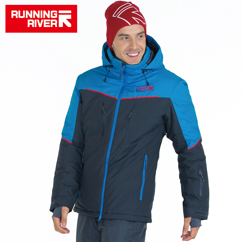 RUNNING RIVER Brand Men Ski Jacket 4 Colors 6 Sizes Winter Warm Outdoor Sports Jackets High Quality Sports Cloth For Man #A5029