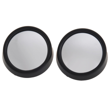 2pcs  2017 New 360 Degree Car mirror Wide Angle Round Convex Blind Spot mirror for parking Rear view mirror Rain Shade